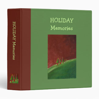 Season's Greetings Landscape Holiday Binder