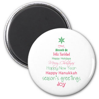 Season's Greetings Magnet