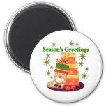Season's Greetings Magnets