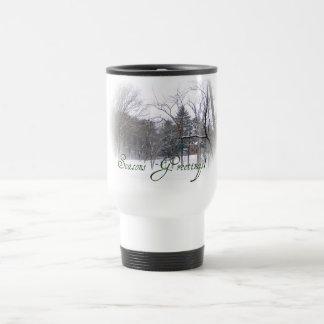 Season's Greetings Merchandise 15 Oz Stainless Steel Travel Mug