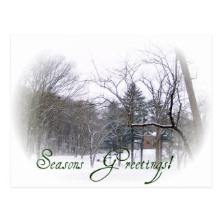 Season's Greetings Merchandise Postcard