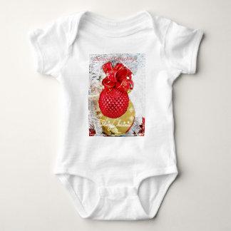 Seasons Greetings,Merry Christmas_ Baby Bodysuit