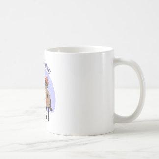 SEASON'S GREETINGS MIC MAC CLASSIC WHITE COFFEE MUG