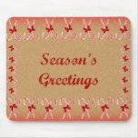 Season's Greetings Mousepad