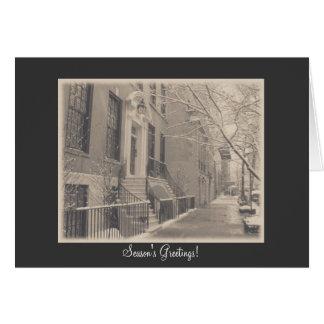 Season's Greetings - New York City Winter Card