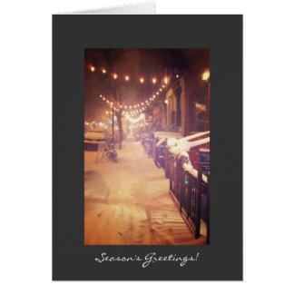 Season's Greetings - New York Winter Card