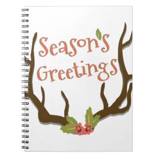 Seasons Greetings Notebook