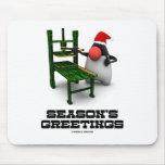 Seasons Greetings (Open Source Duke Computers) Mousepad