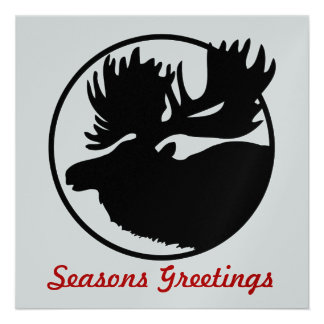 Seasons Greetings Personalized Invitation