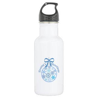 Seasons Greetings 18oz Water Bottle