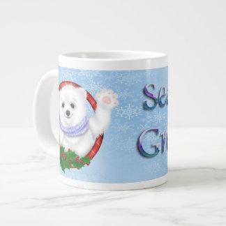 Season's Greetings Polar Bear Specialty Mugs