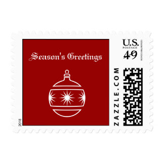 Season's Greetings Postage