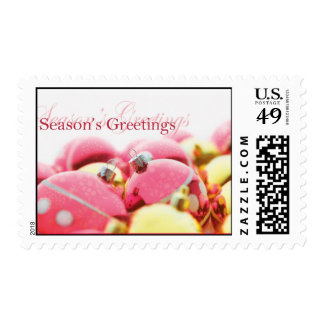 Season's Greetings Postage