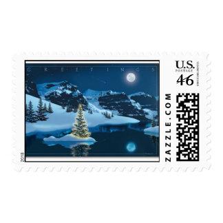 Seasons Greetings Postage Stamps