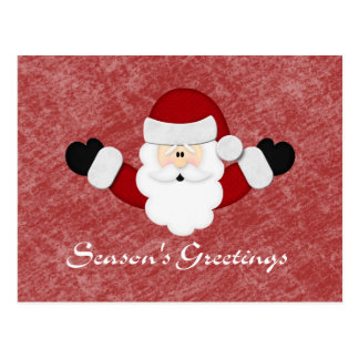 Seasons Greetings Postcard