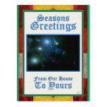Seasons Greetings Postcard by David M. Bandler