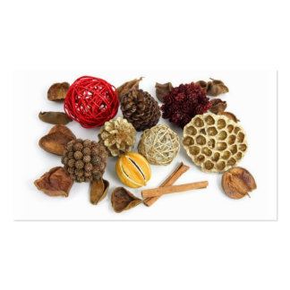 Seasons Greetings Potpourri Thank you Cards Business Cards