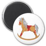 Seasons Greetings: Rocking Horse Magnets