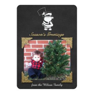 Season's Greetings Santa Claus Card