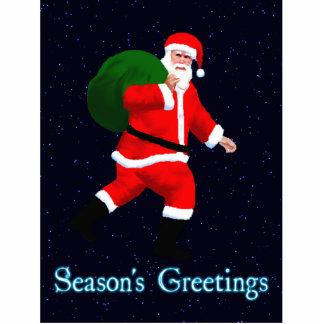 Season's Greetings - Santa Claus Statuette