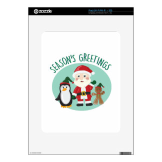 Seasons Greetings Skin For The iPad