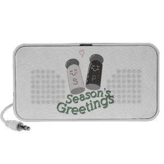 Seasons Greetings Travel Speakers