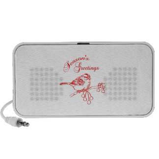 SEASONS GREETINGS iPod SPEAKERS