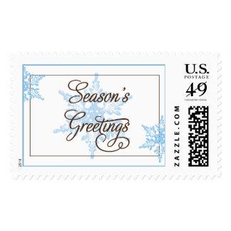 Season's Greetings Stamp