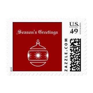 Season's Greetings Stamps