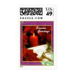 Seasons, Greetings Stamps