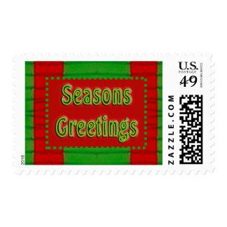 seasons greetings stamps