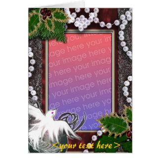 seasons greetings template greeting card
