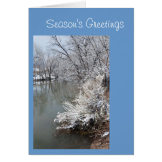 Season's Greetings Template Greeting
