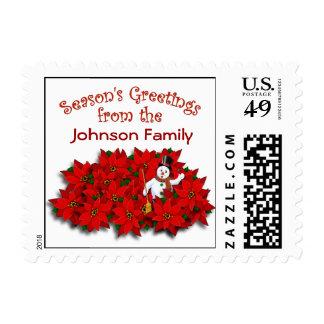 Seasons Greetings Template Stamp