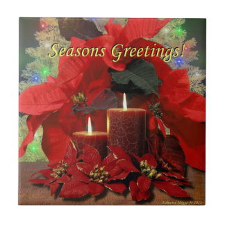 Seasons Greetings Tile
