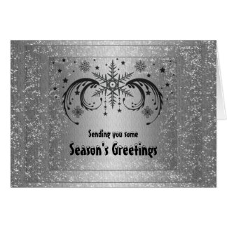 Season's Greetings to Customers Card