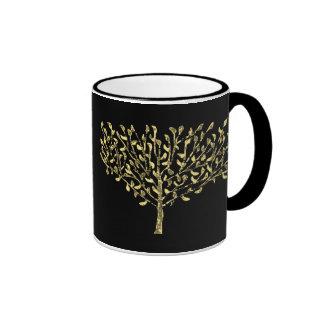 Seasons Greetings Tree Mugs