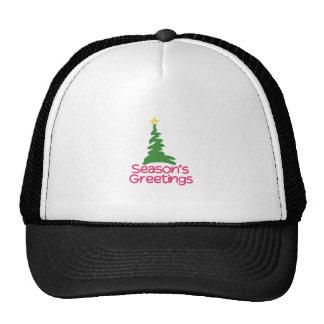 Seasons Greetings Trucker Hat