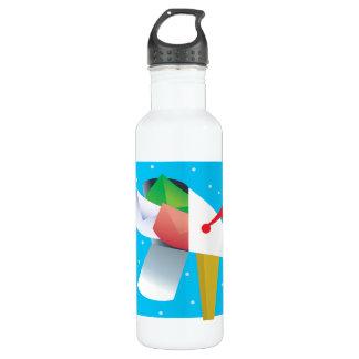 Seasons Greetings Water Bottle