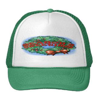 Season's Greetings Wreath Hat