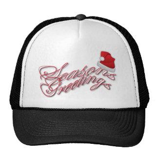 Seasons Greetings Xmas Products Mesh Hats