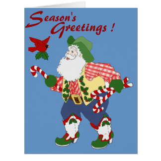 Season's Greetings Ya'll Card