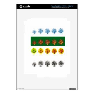 seasons iPad 3 decals