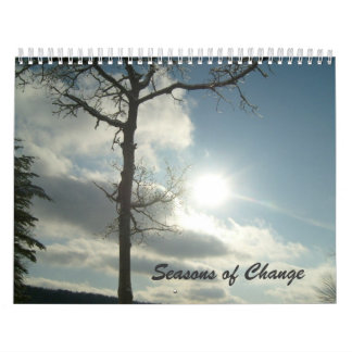 Seasons of Change 2-Calendar Calendar