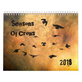 Seasons Of Crows 2018 Calendar