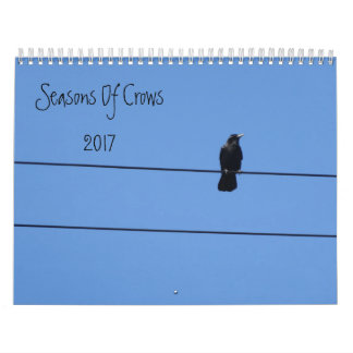 Seasons Of Crows Calendar