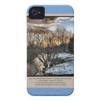 Seasons Of Our Lives Inspirational iPhone 4 Cover