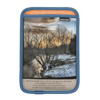 Seasons Of Our Lives Inspirational Sleeve For iPad Mini