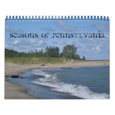 Seasons of Pennsylvania Wall Calendars