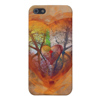 Seasons of the Heart iphone Case For iPhone SE/5/5s